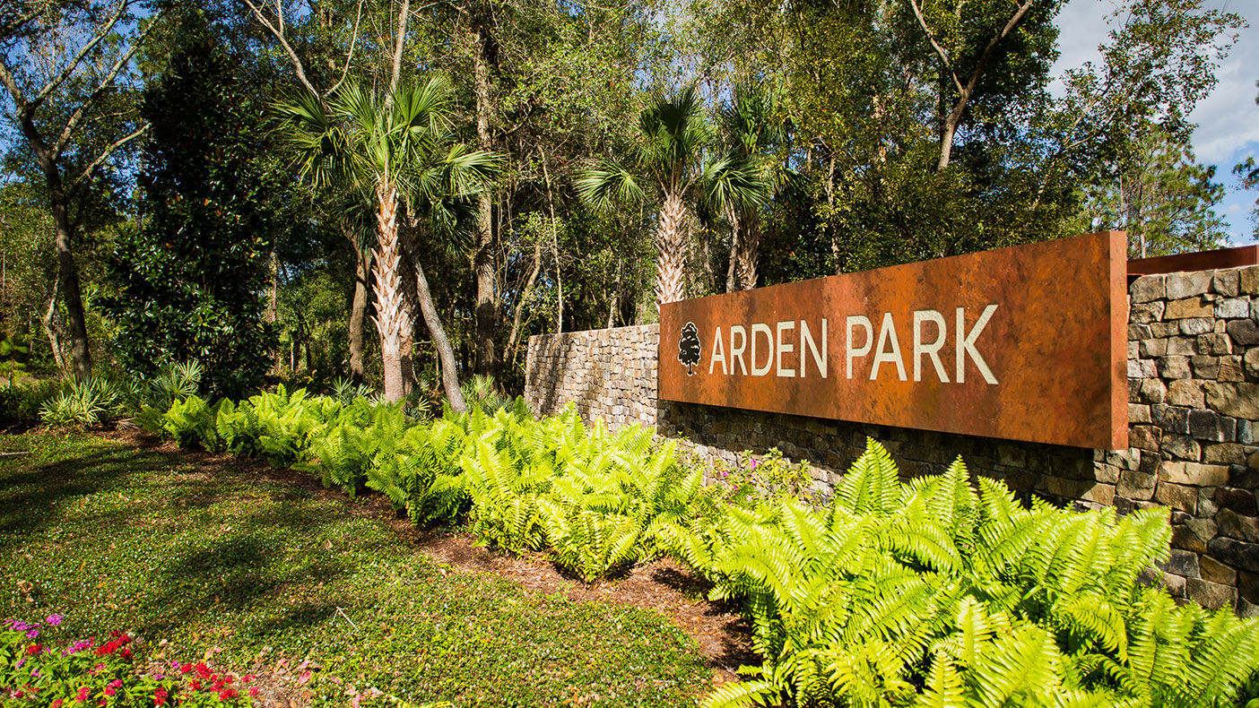 Our designs for Arden Park were completed in 2012 and construction is expected to be finished by 2020.