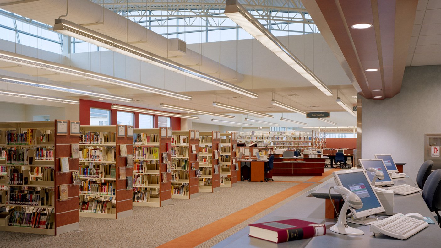The 23,000-square-foot Ashburn Public Library was featured in the Virginia American Institute of Architect's Inform magazine.