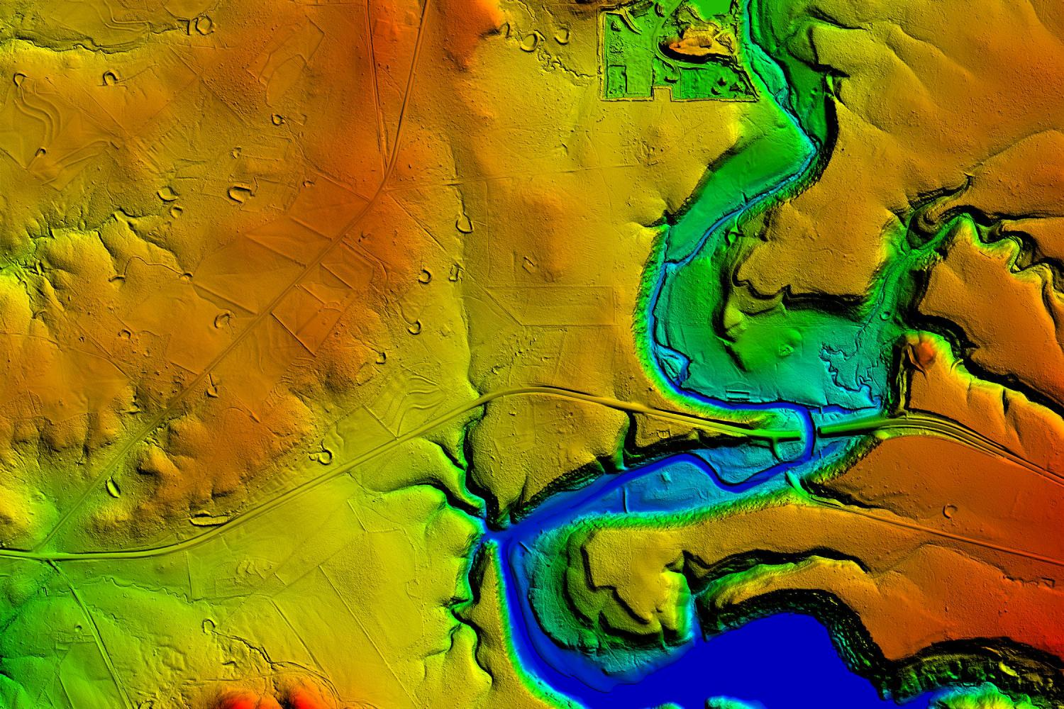 High quality LiDAR allows for more comprehensive modeling and mapping techniques.