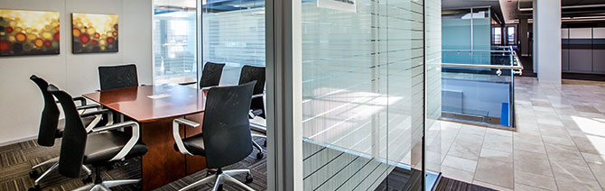 Creating spaces with natural light and access to daylight for employees makes a difference in productivity.