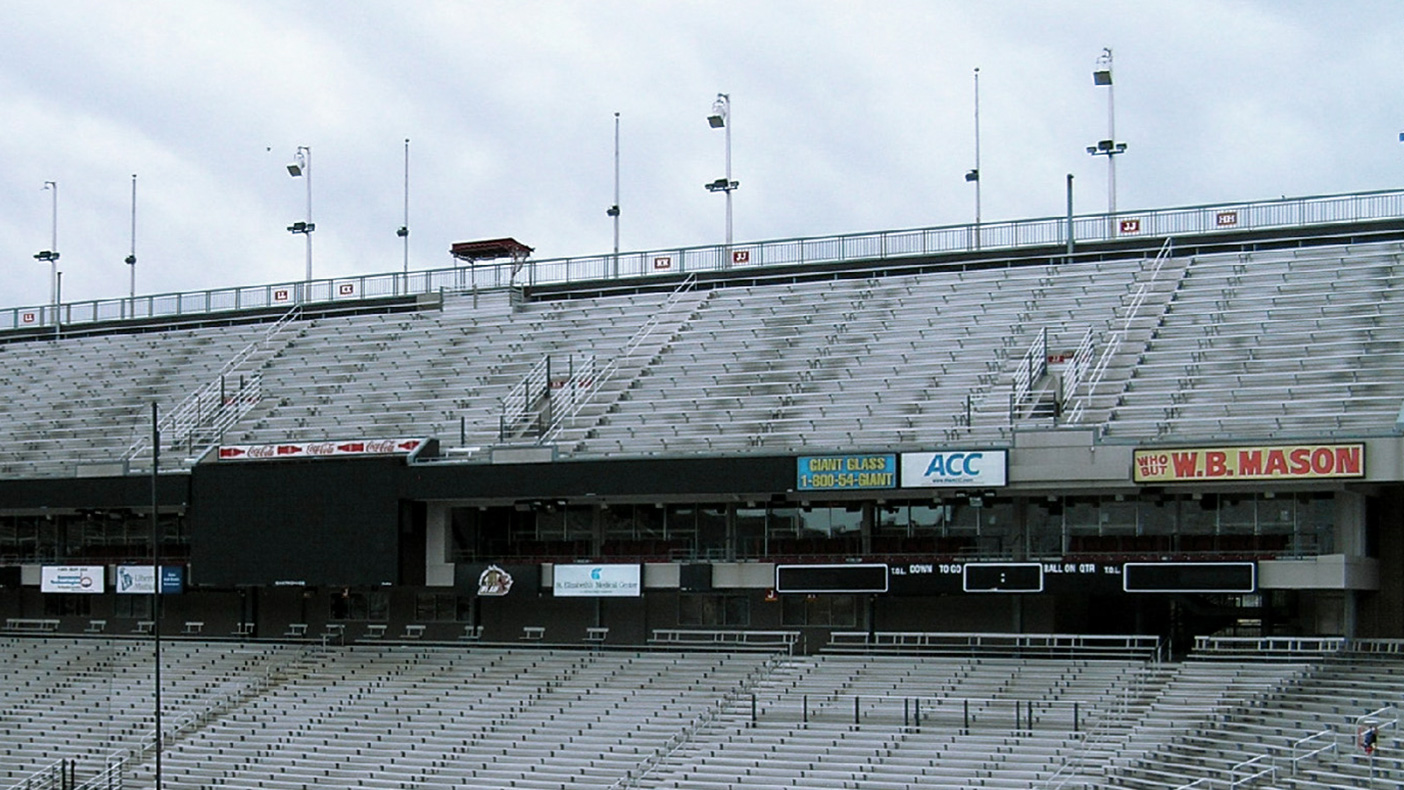 The initial buildout focused on Alumni Stadium, Conte Forum, and the surrounding buildings, and included 300+ antennas and an intermediate and main hub, head end location.