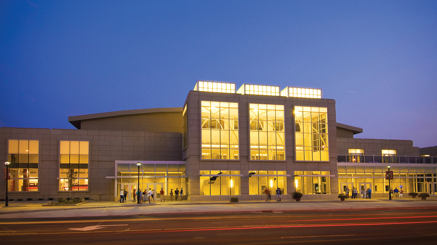 Bradley University's 164,000-square-foot Renaissance Coliseum hosts sporting events and various student activities, and serves as a concert hall convocation center.