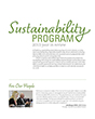 Sustainability Program 2013 Year in Review