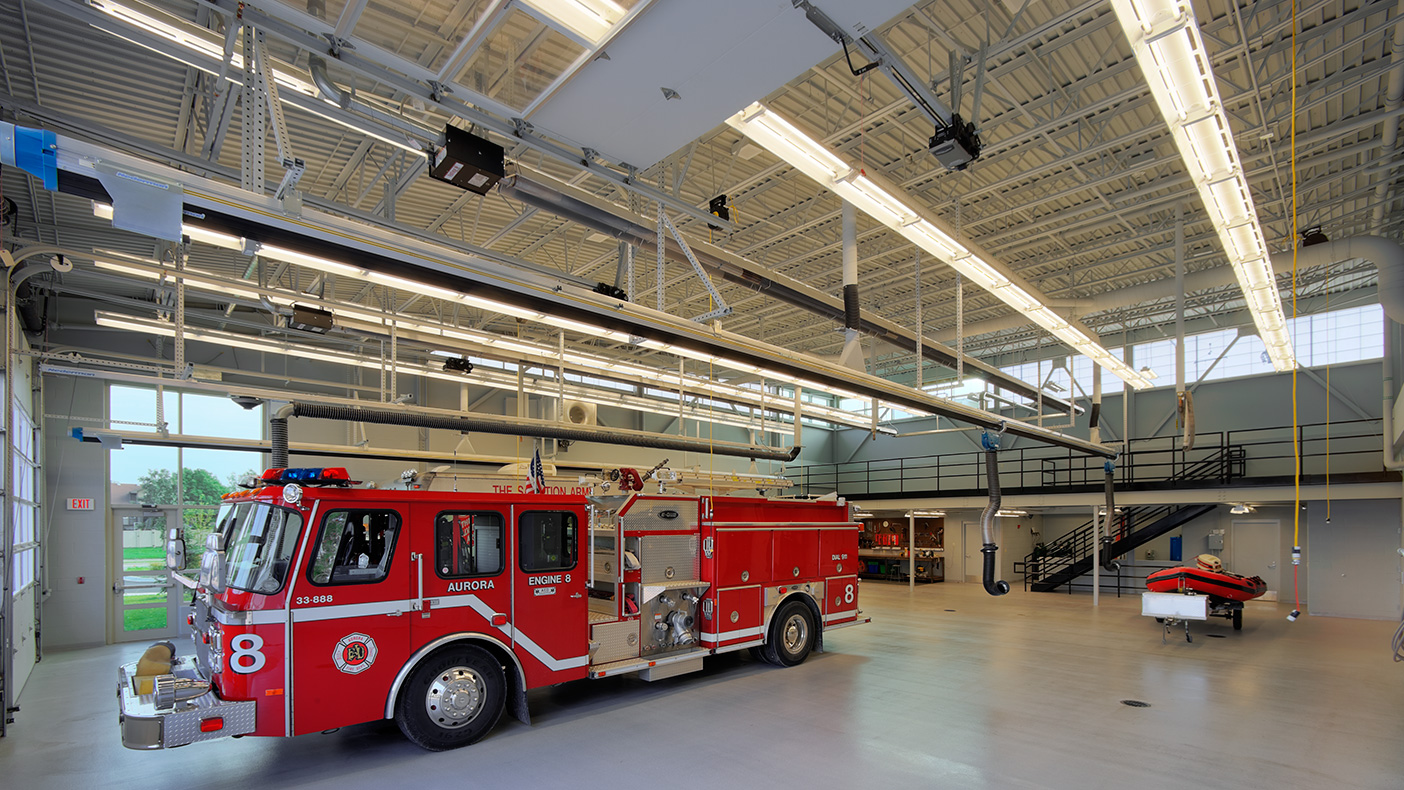 Design of the Aurora Fire Station and CSCC optimizes functionality while gaining the inherent economic benefits of a shared facility.