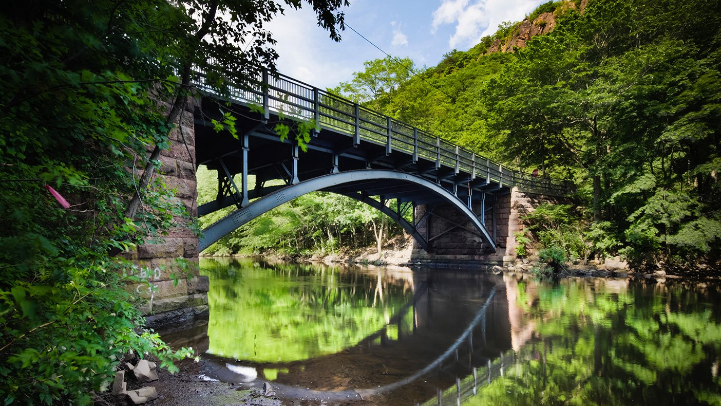 As identified during the inventory, we are designing the $1.3 million rehabilitation of the East Rock Road Bridge over the Mill River to maintain the area's historic character.