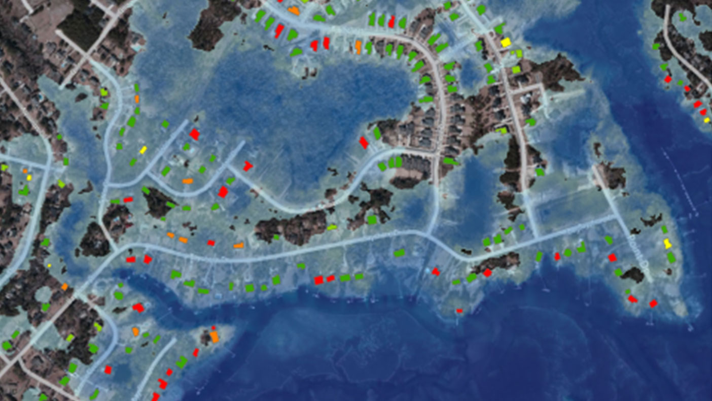 We pioneered a GIS-based sea level rise risk assessment methodology for Anne Arundel County.