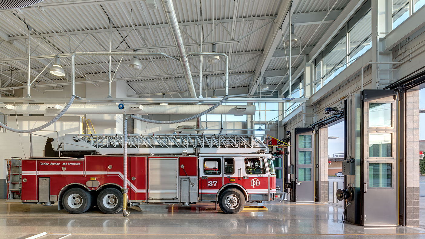 We designed the new Station 37 to replace a nearly 60-year-old facility.
