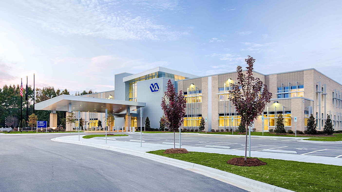 The new VA Outpatient Clinic offers primary care for veterans throughout eastern North Carolina.