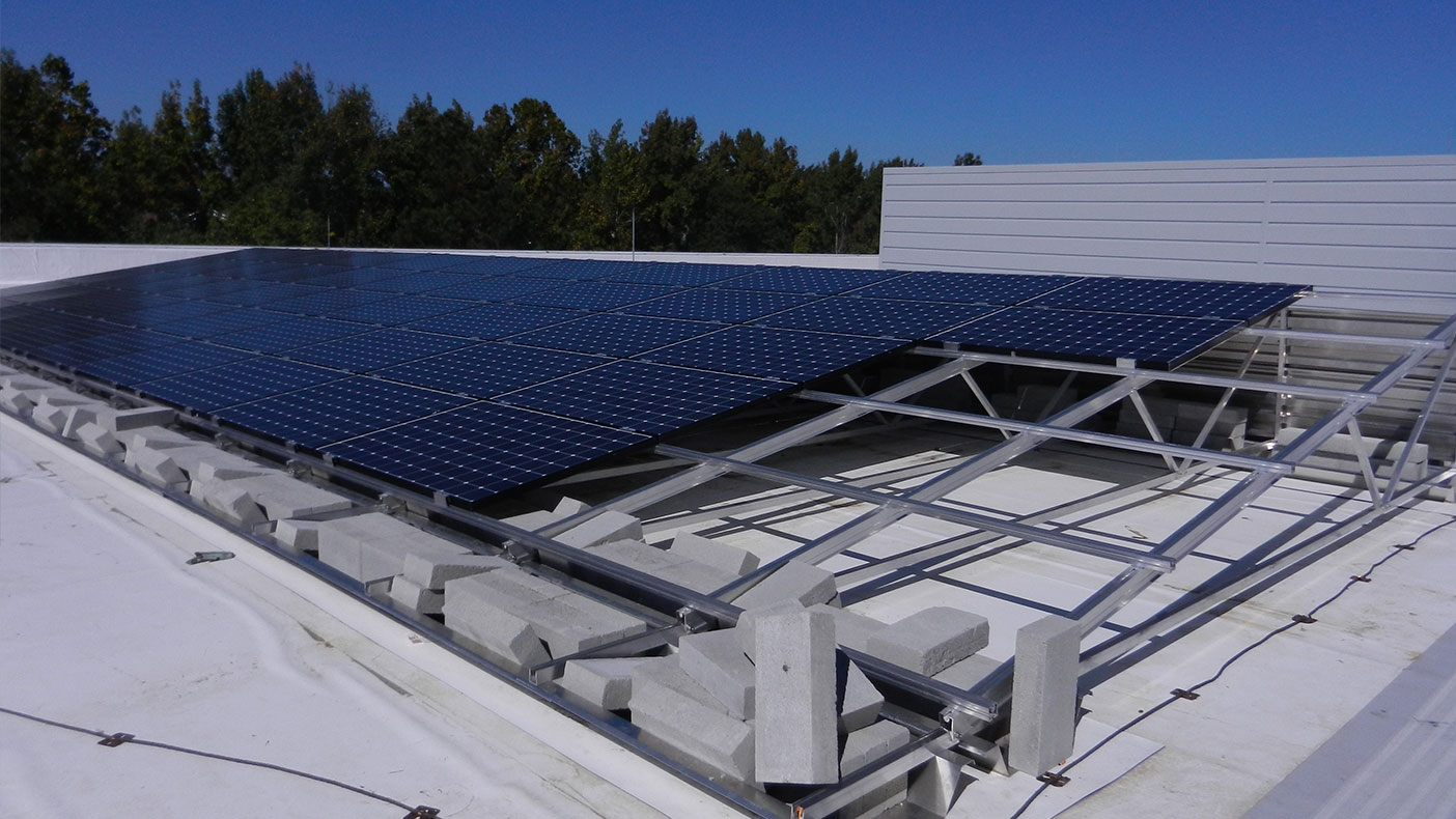 The design earned the facility a LEED® Silver certification, partially due to the use of solar photovoltaics.