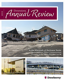 2012 Annual Review: Spring 2013