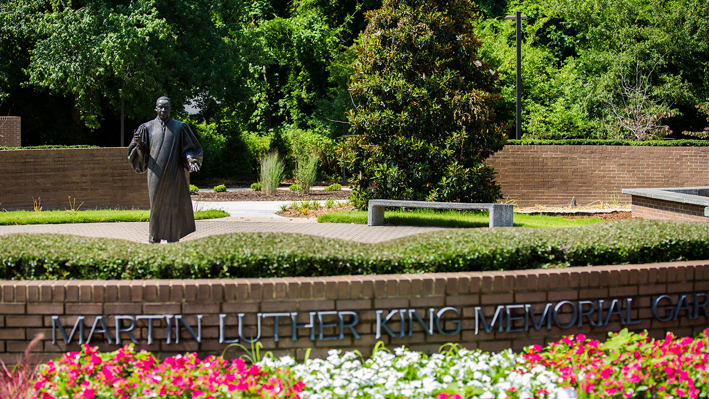 The Dr. Martin Luther King, Jr. Memorial Gardens was one of the first public parks dedicated solely to the memory of Dr. King and the civil rights movement.