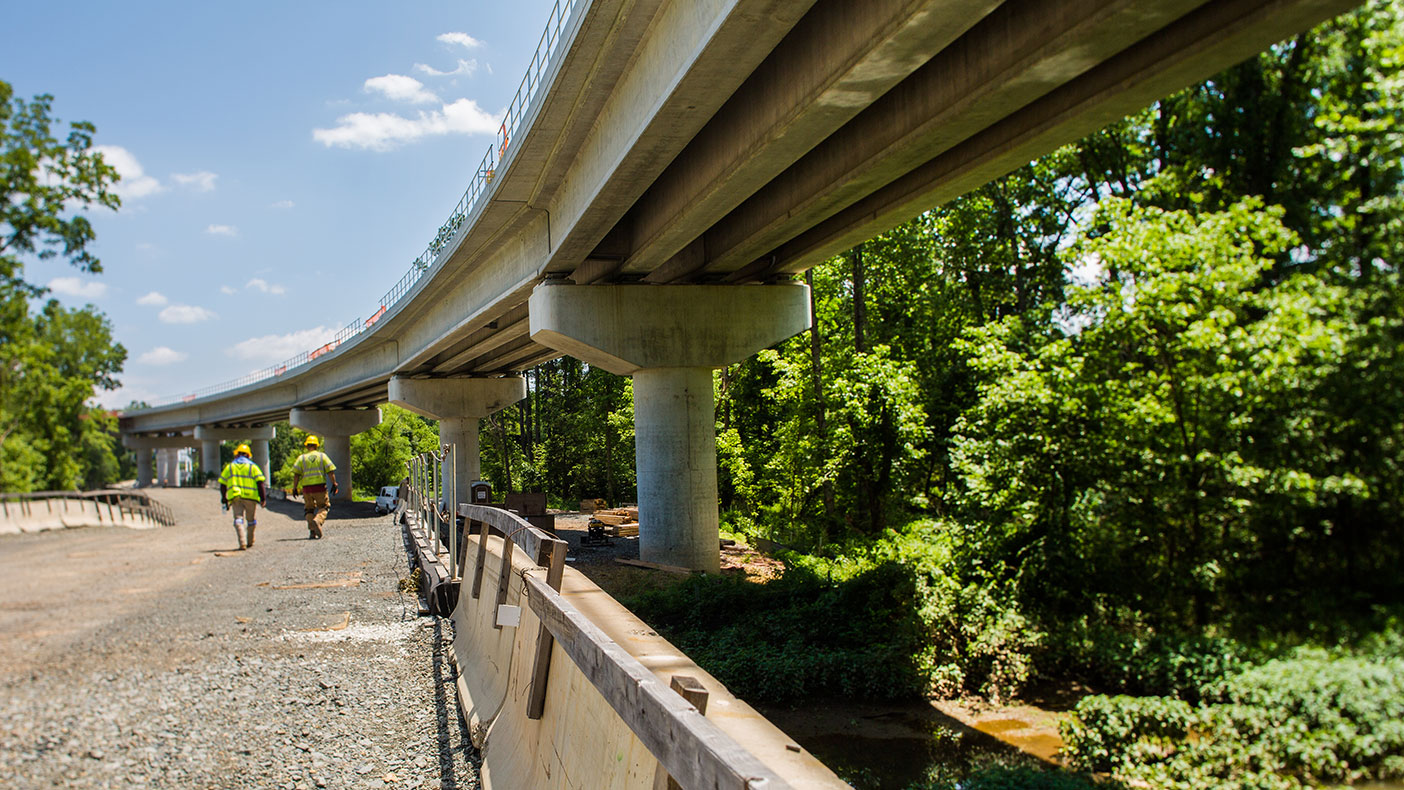 The Silver Line will be extended 11.4 miles from Fairfax County, through the airport, and into Loudoun County.