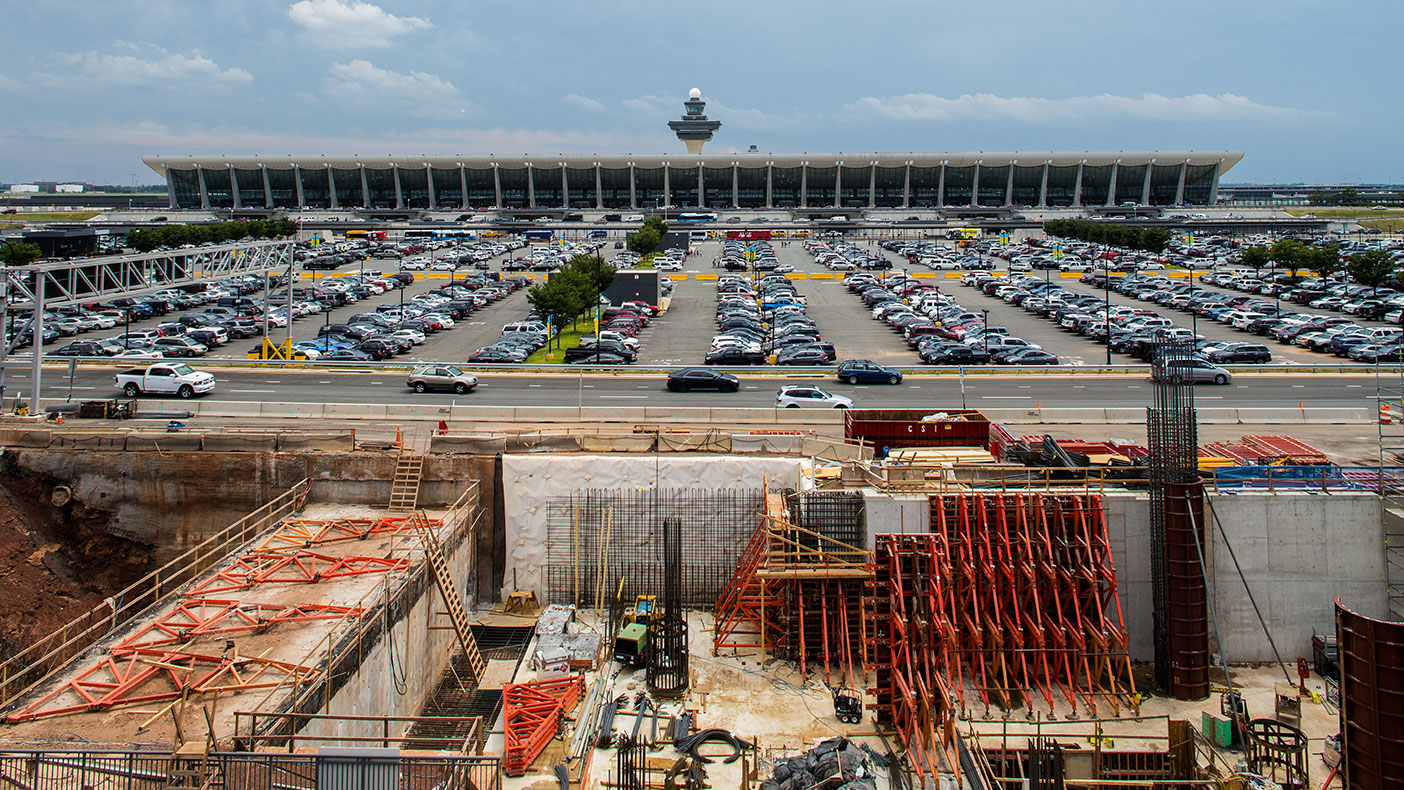 The extension will serve Virginia's largest and second largest employment centers, Tysons Corner and the Reston/Herndon area, as well as provide a direct transport from the airport to Washington, D.C.