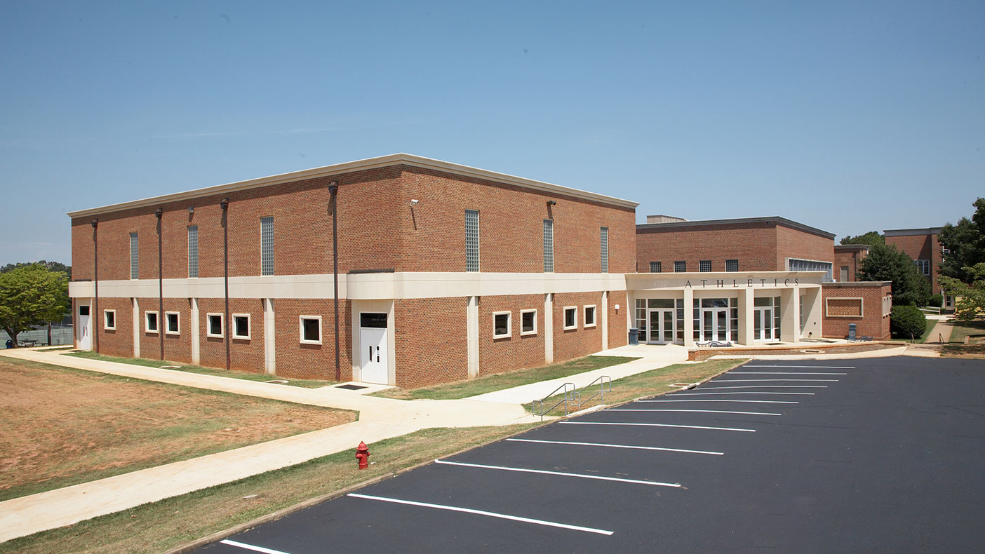 EC Glass High School was built in the 1950s and has required renovations over the years, including those performed in 2006.