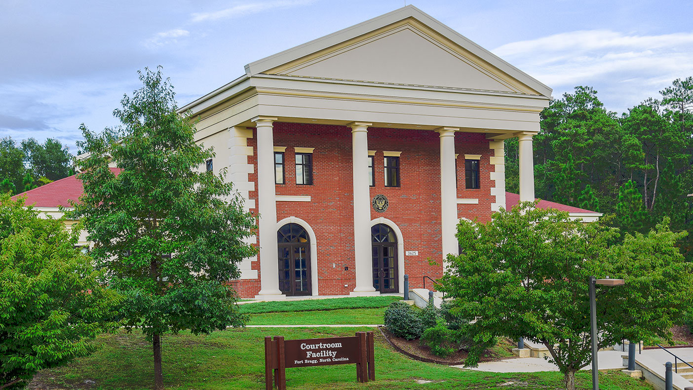 The courthouse covers 12,000 square feet.