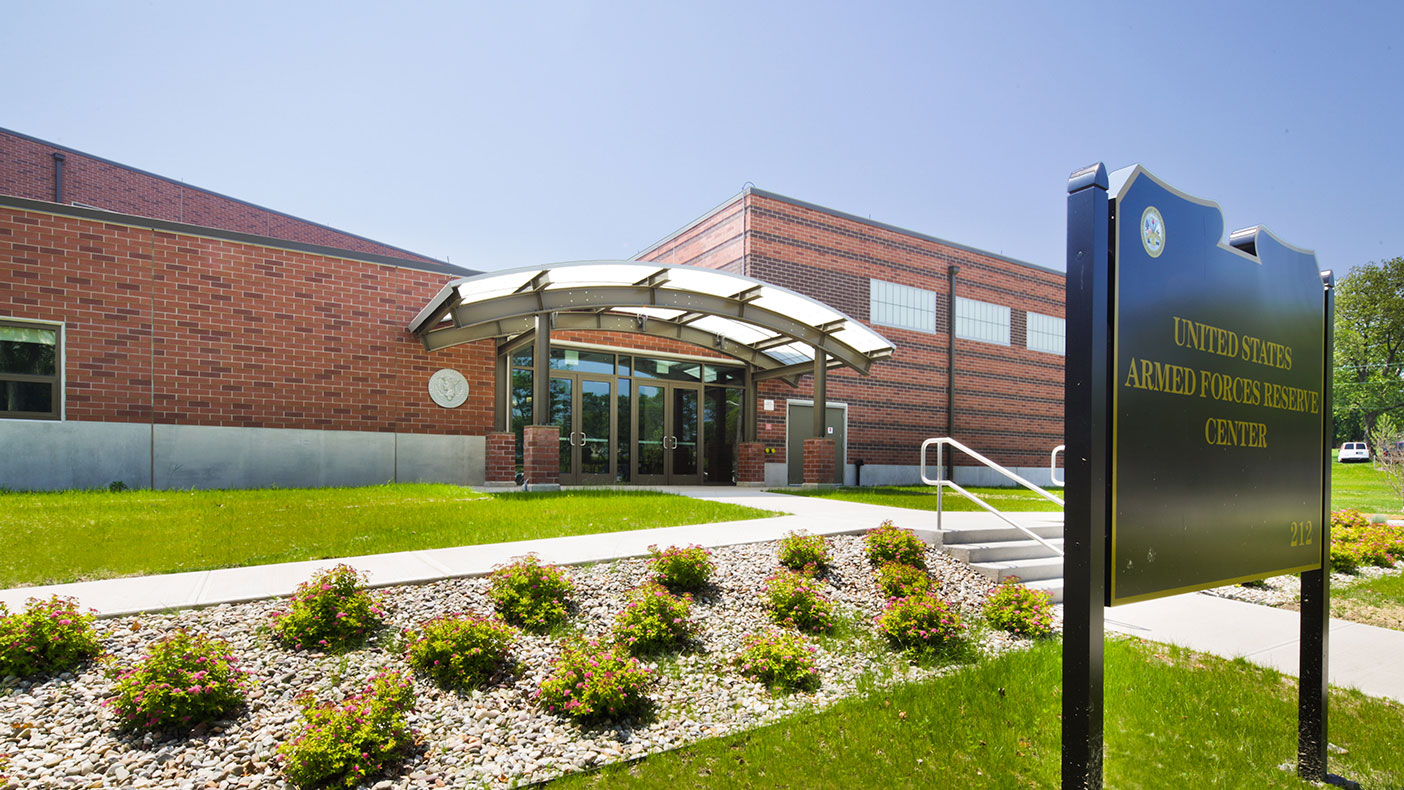The three-story steel-framed AFRC was designed with special connections and detailing to resist progressive collapse in accordance with the USACE design guidelines.