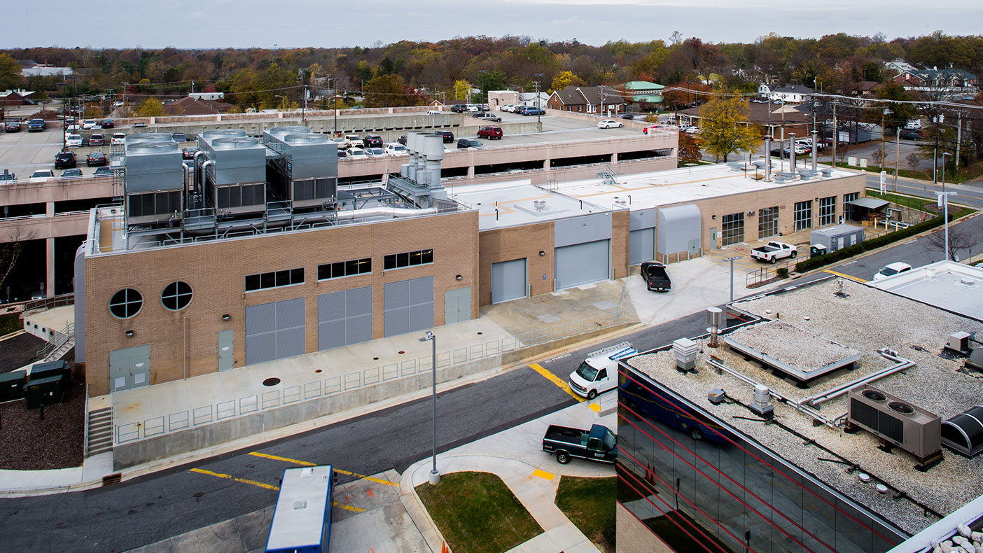 The infrastructure improvement project stemmed from our campus-wide facilities assessment, which evaluated conditions, capacity, code compliance, and remaining lifespan of various MEP systems.