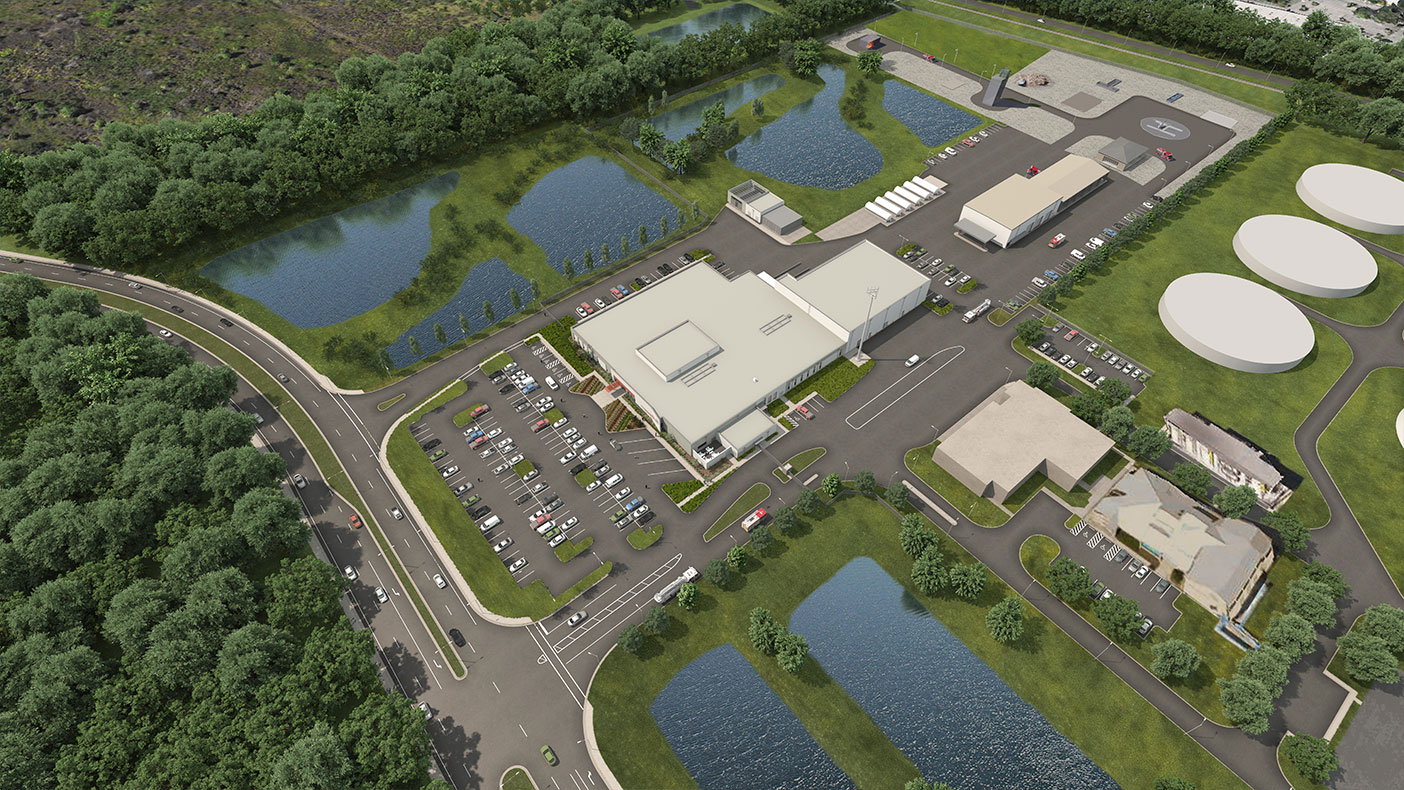 Future expansion for more training facilities are accommodated in the master plan.