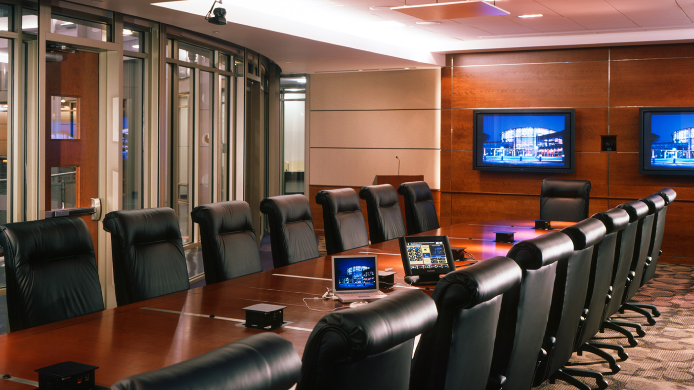 IALR's conference center features distance learning, video conferencing, and a sophisticated telecommunications infrastructure.