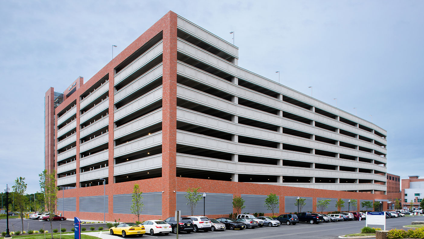 The facility features a nine-story parking garage with more than 1,500 parking spaces.
