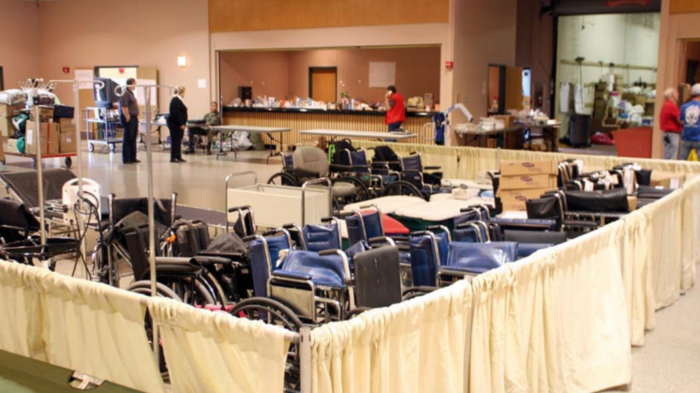 We used GIS services to estimate and map the anticipated number of people with access and functional needs who required assistance. Photo: FEMA/News