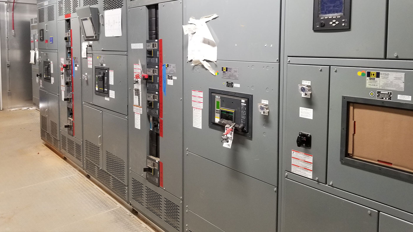 The electrical infrastructure and extension of the Powell South Building's building automation systems digital controls' infrastructure was installed prior to the new HVAC equipment.