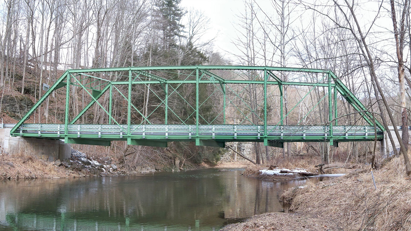 The project consisted of the complete reconstruction of a 1904 Pratt Truss that is considered to be a contributing element to a rural historic district in Lycoming County, Pennsylvania.