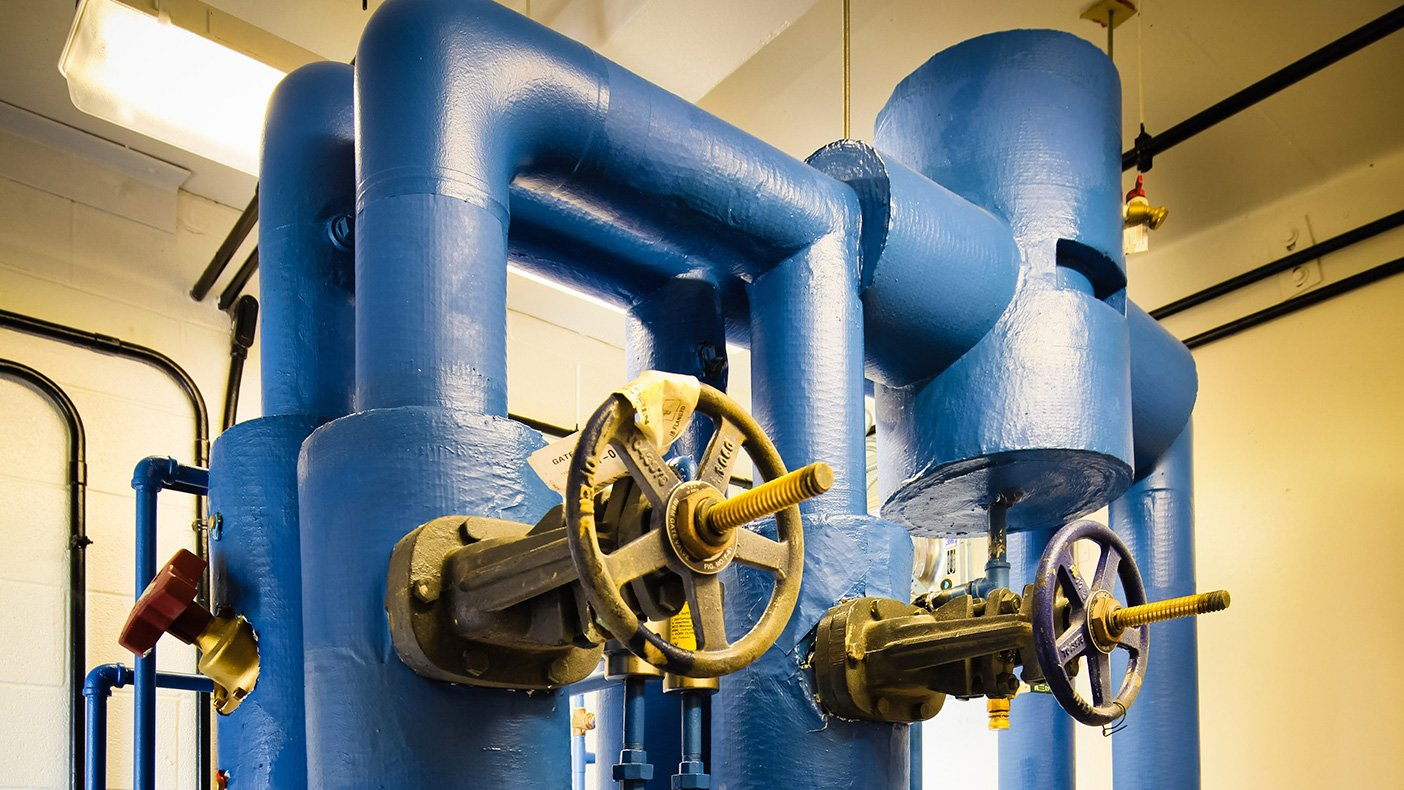 The facility now employs the four-stage Bardenpho process to meet low nitrogen and phosphorous discharge requirements.