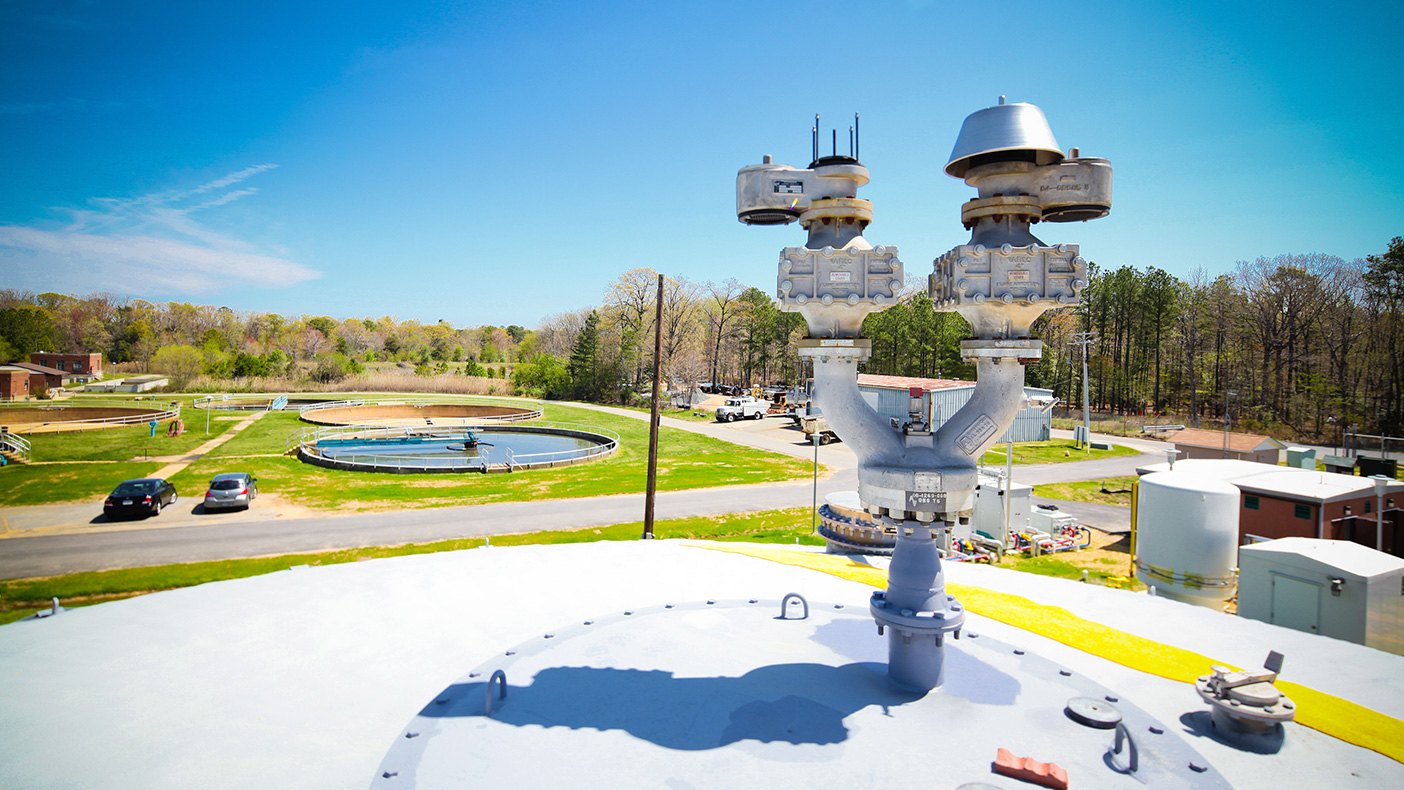 The Marlay Taylor Water Reclamation Facility is the largest wastewater treatment plant operated by the St. Mary's County (MD) Metropolitan Commission.