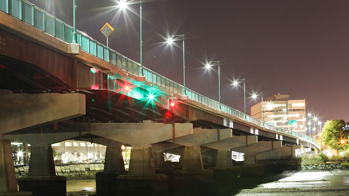 As part of Massachusetts Department of Transportation's Accelerated Bridge Program, the $54-million project reached substantial completion in March 2013, five months ahead of schedule.
