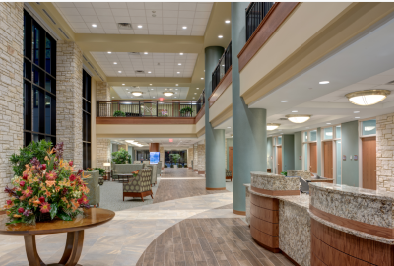 Midwestern Regional Medical Center – Lobby/Reception Area