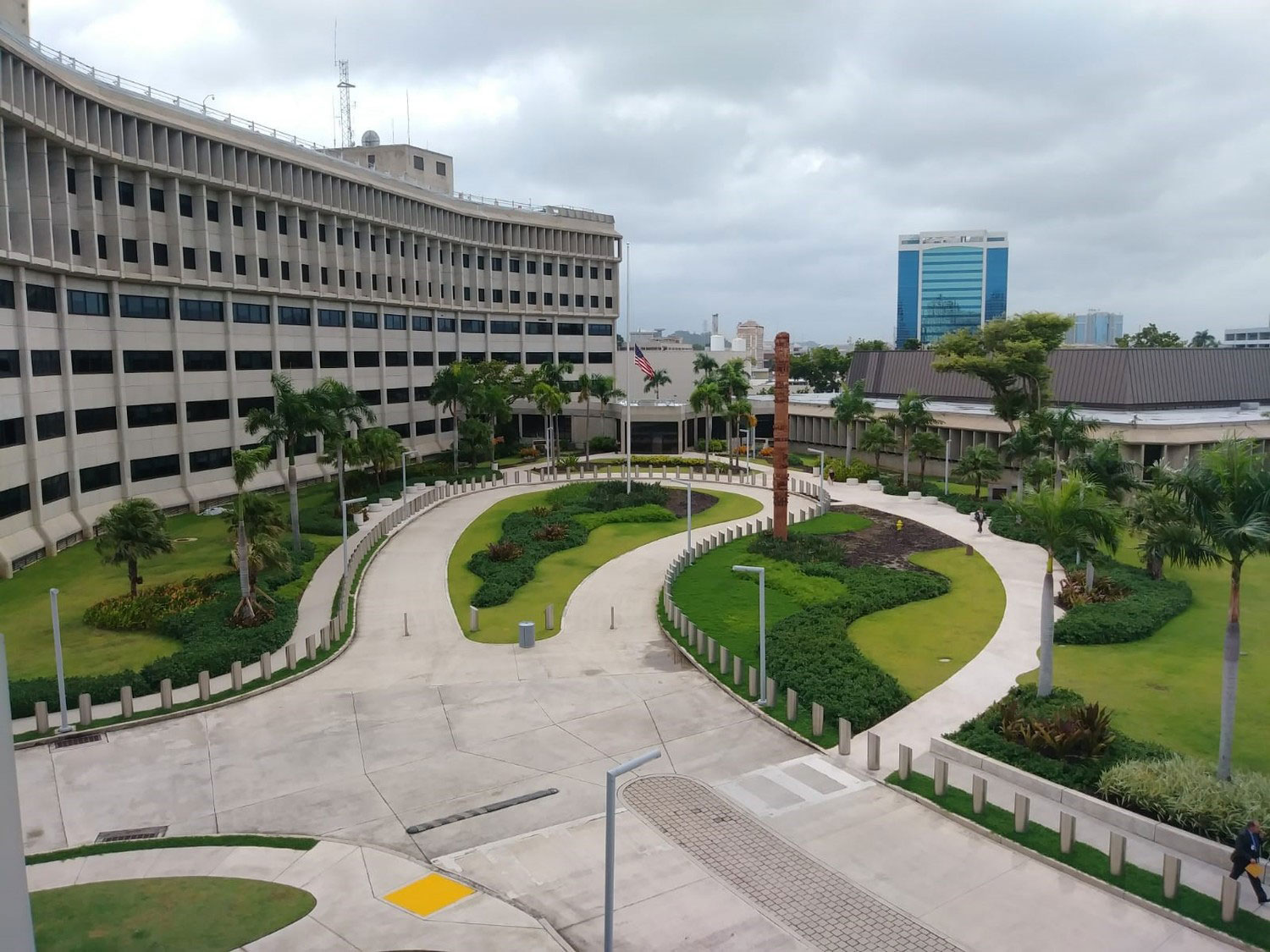 The 320,000-square-foot federal office building and 48,000-square-foot courthouse were both redesigned and upgraded. Photo courtesy of Dewberry.