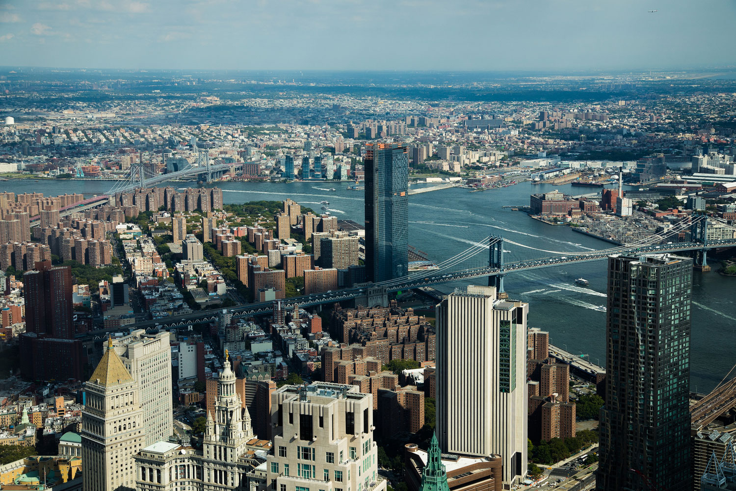 The preliminary climate resiliency guidelines were tested across each of the city's five boroughs, including Brooklyn, Manhattan, Queens, Staten Island, and the Bronx. Photo courtesy of Dewberry.