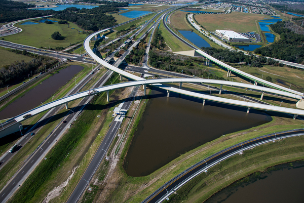 SR 417/South Access Road/ Boggy Creek Road Interchange.
