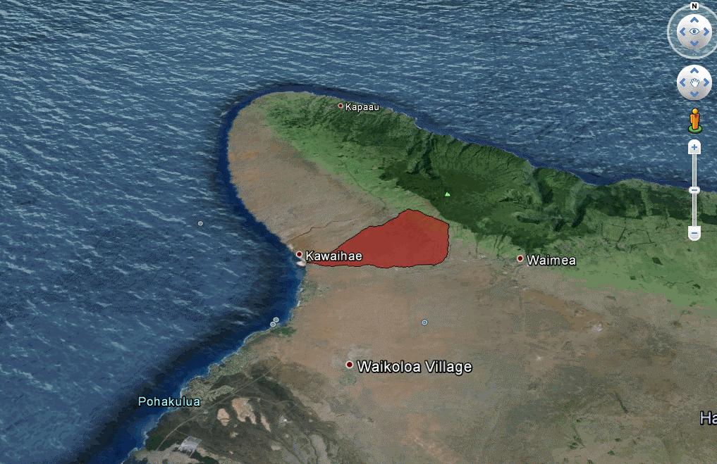 Pelekane Watershed on Hawaii's Big Island.