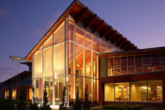 Delaware County Orange Branch Library.