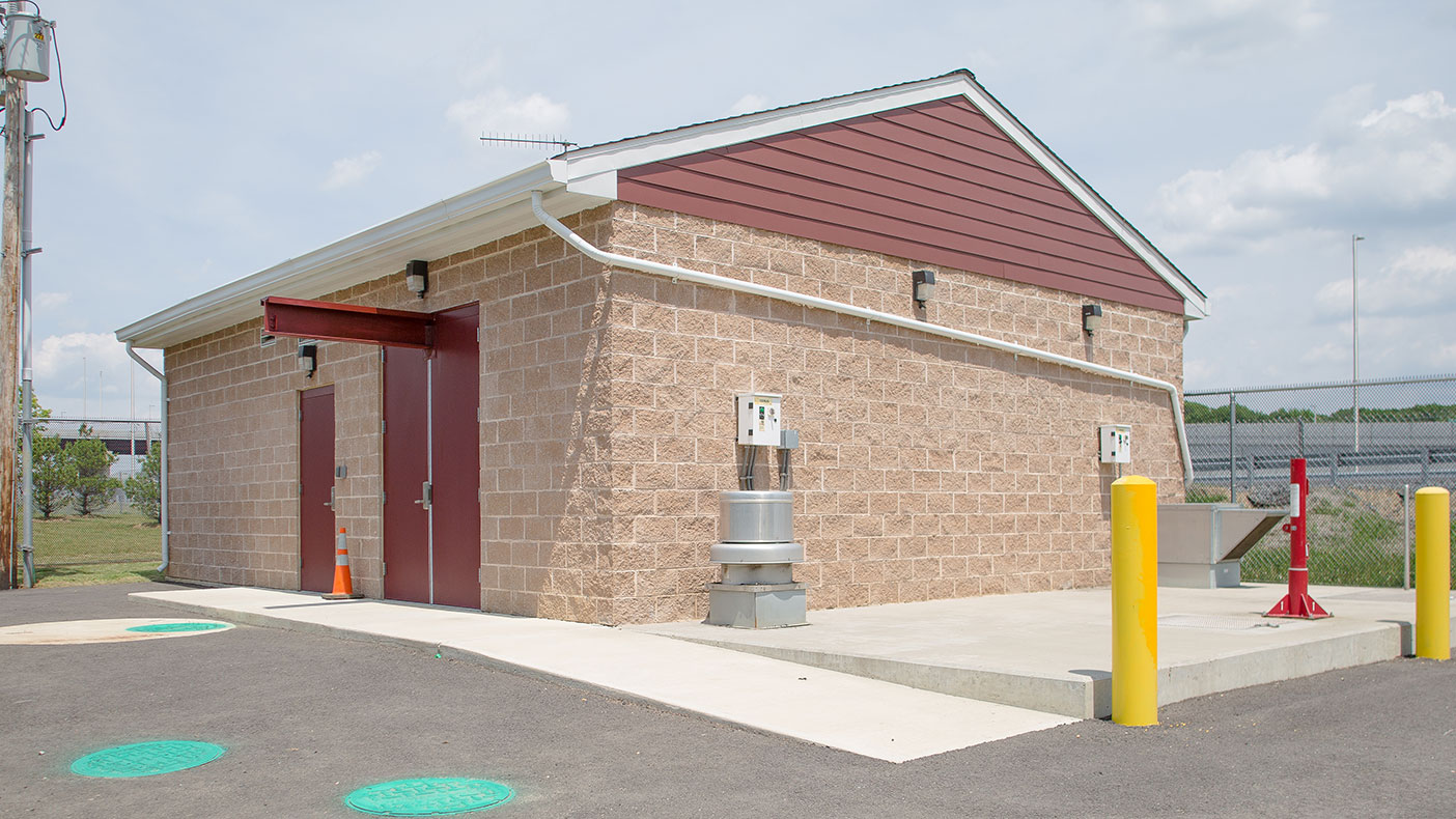 Our designs included the relocation of a utility building and the reconstruction of New Jersey Turnpike Authority Central Shop buildings and local public works facilities.