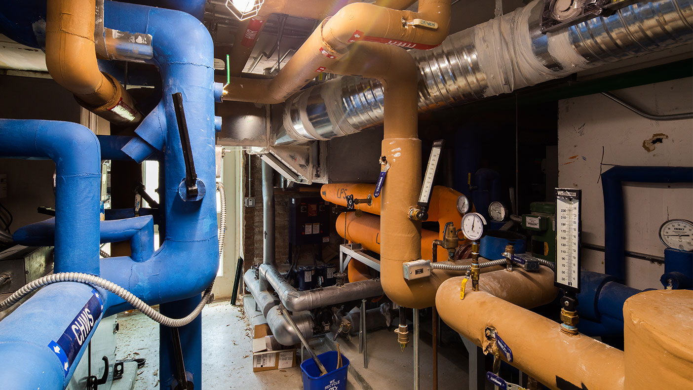 The facility was experiencing temperature control issues, which we addressed by converting the HVAC system to a multiple-zone system.