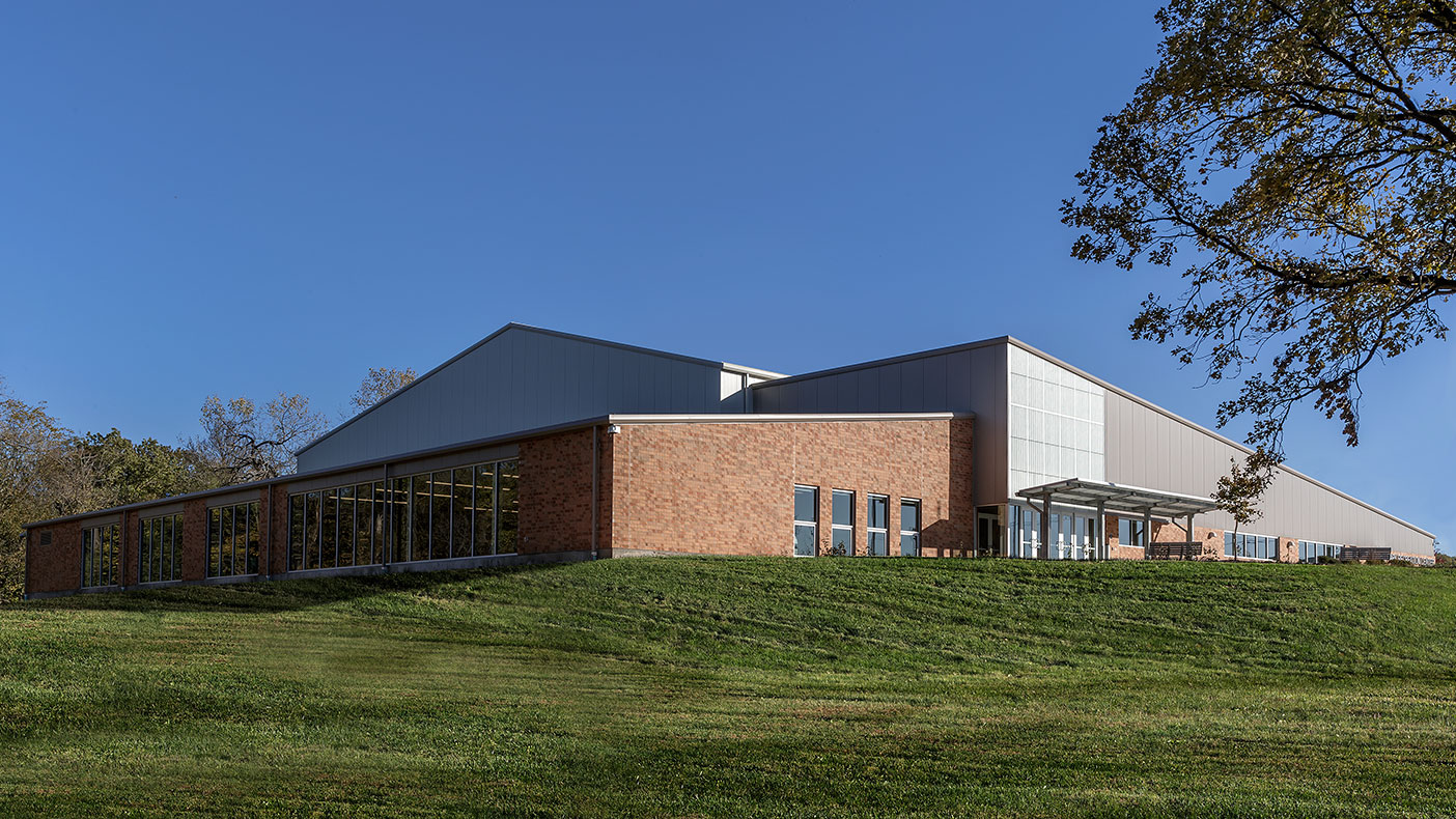 Our design team selected a pre-engineered building system to provide a cost-effective solution.