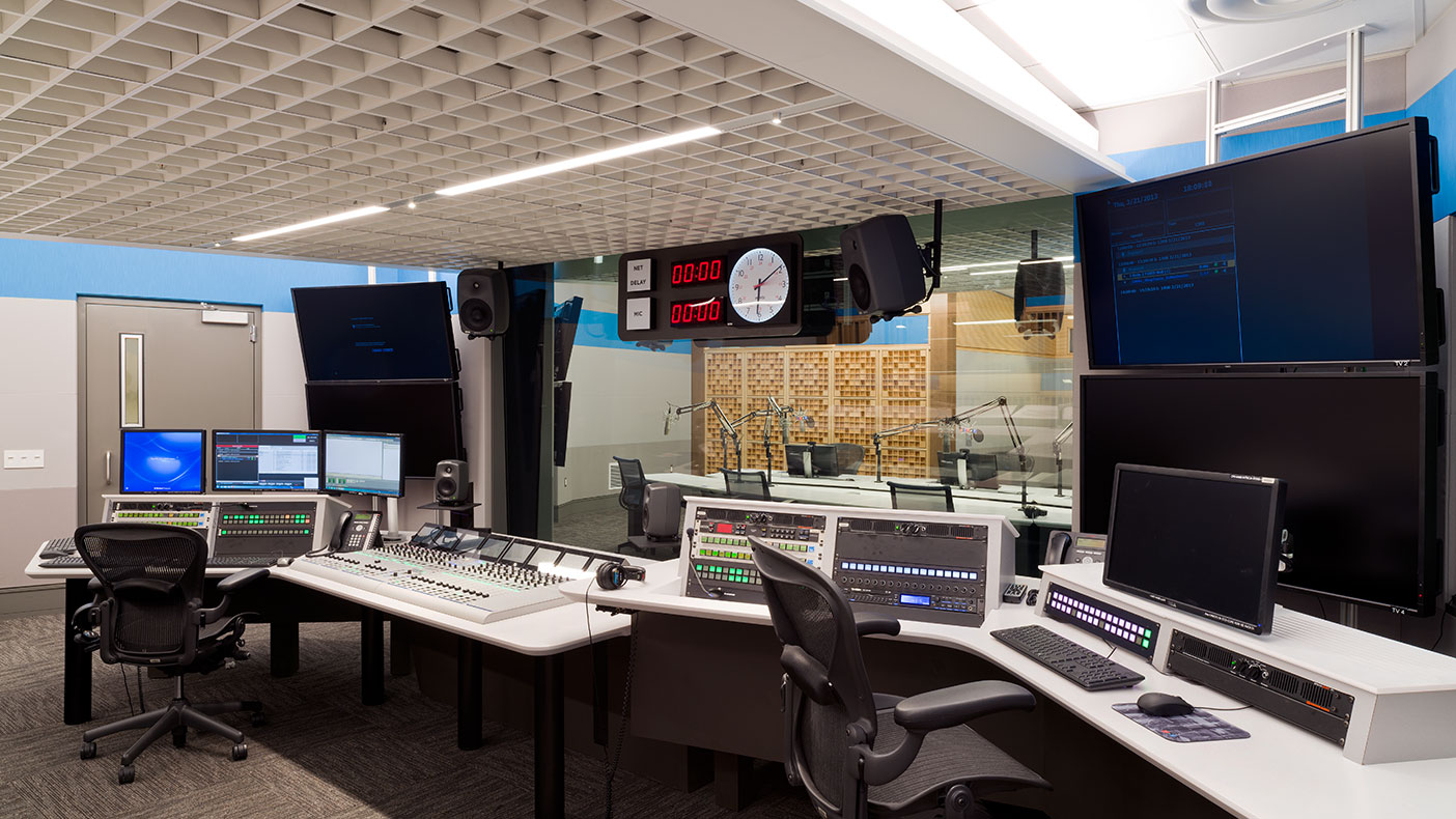 We created studios with appropriate MEP systems and emergency power so that the studio occupants would not be impacted by an interruption from air noises or a power outage.