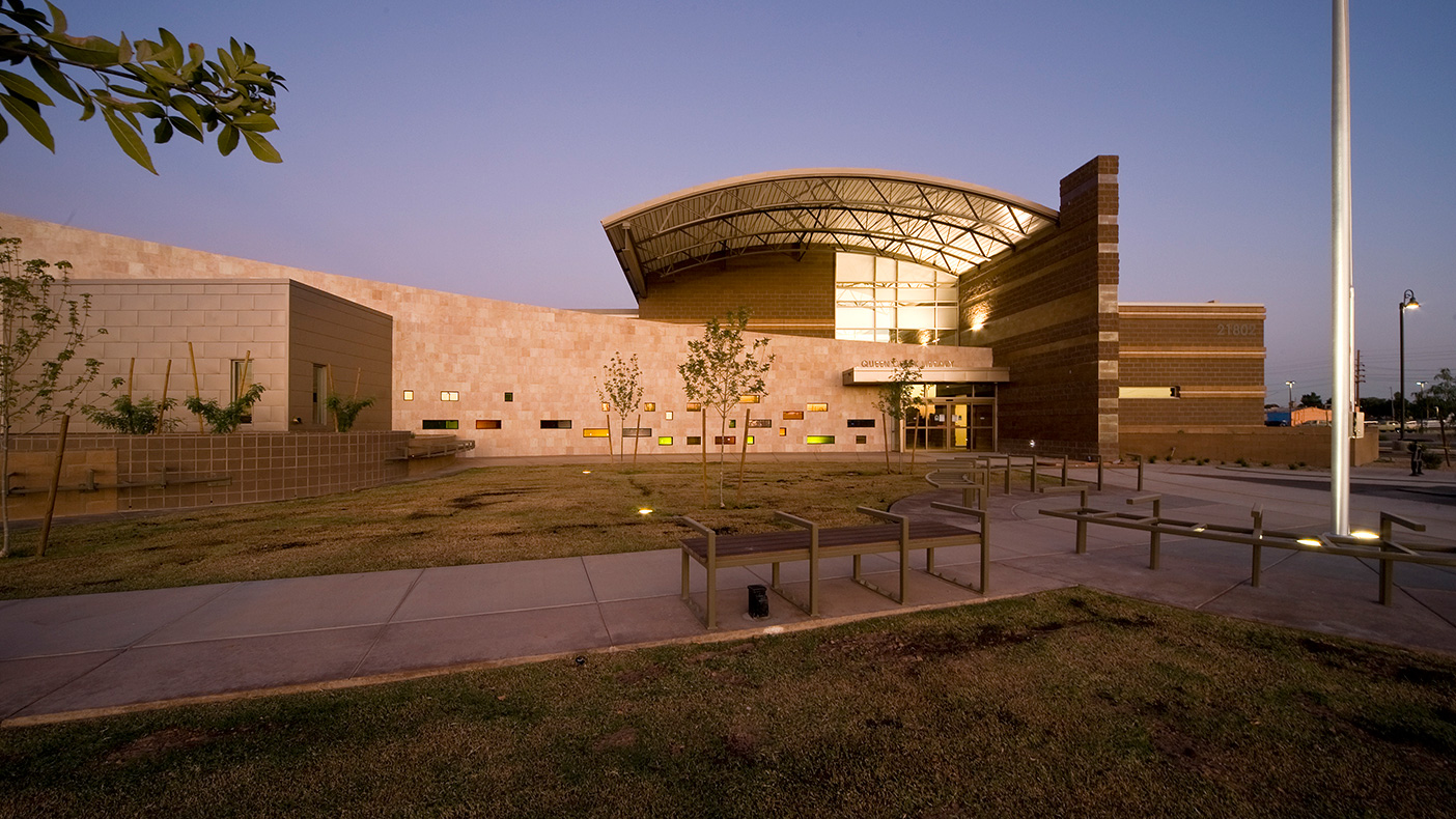 The LEED Gold certified library was featured in Cities Go Green magazine.