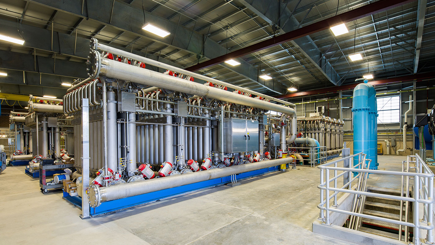 The Rueter-Hess Water Purification Facility is the nation