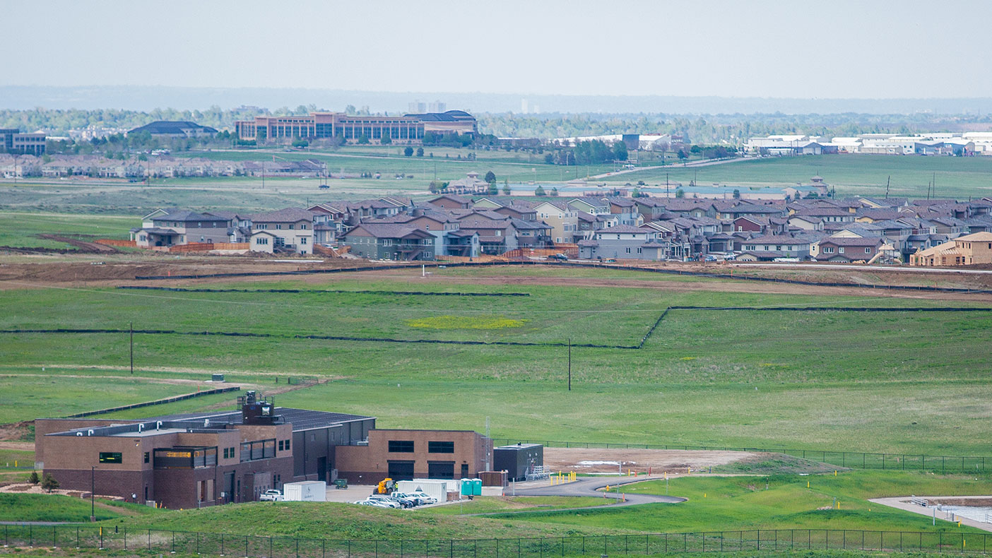 The facility is nestled within the community of Parker, Colorado, just southeast of Denver and provides sustainable water supply to the growing district.