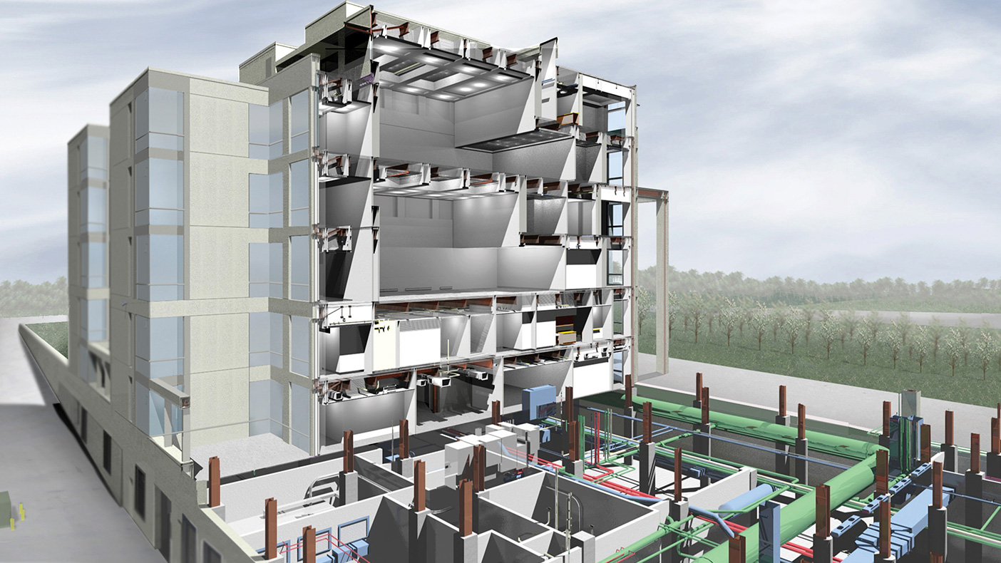 We developed a 3D proof of concept model using BIM prior to the project being bid for construction. The improved coordination helped reduce construction change orders.