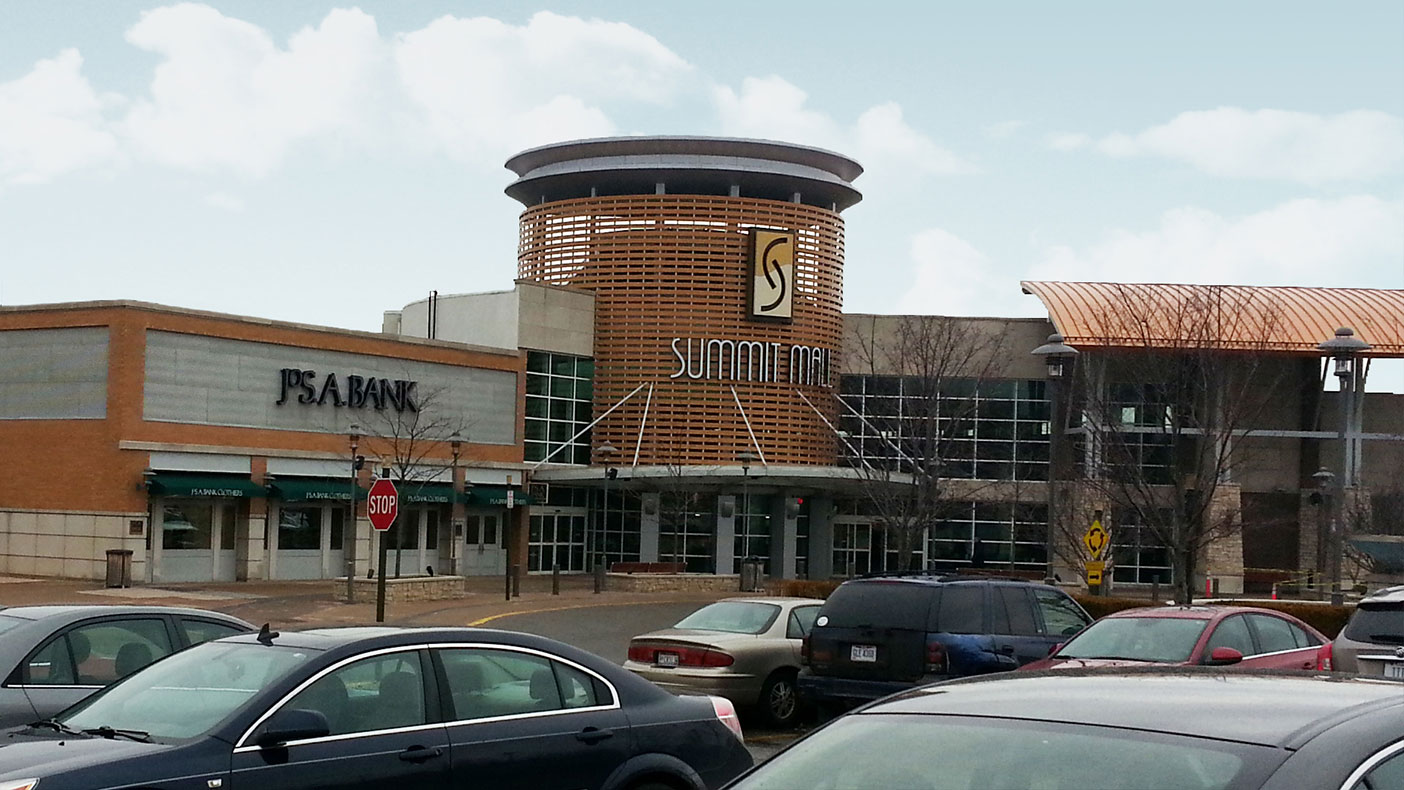 We helped the Fairlawn, Ohio, Summit Mall meet their customers' cell access needs.