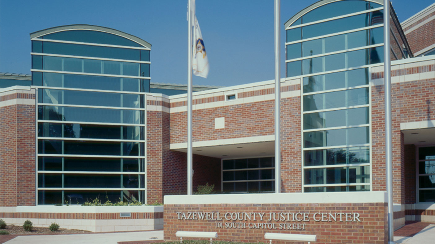 The Tazewell County Justice Center and Pekin Municipal Building were planned and designed to work together as a joint city/county public safety complex.