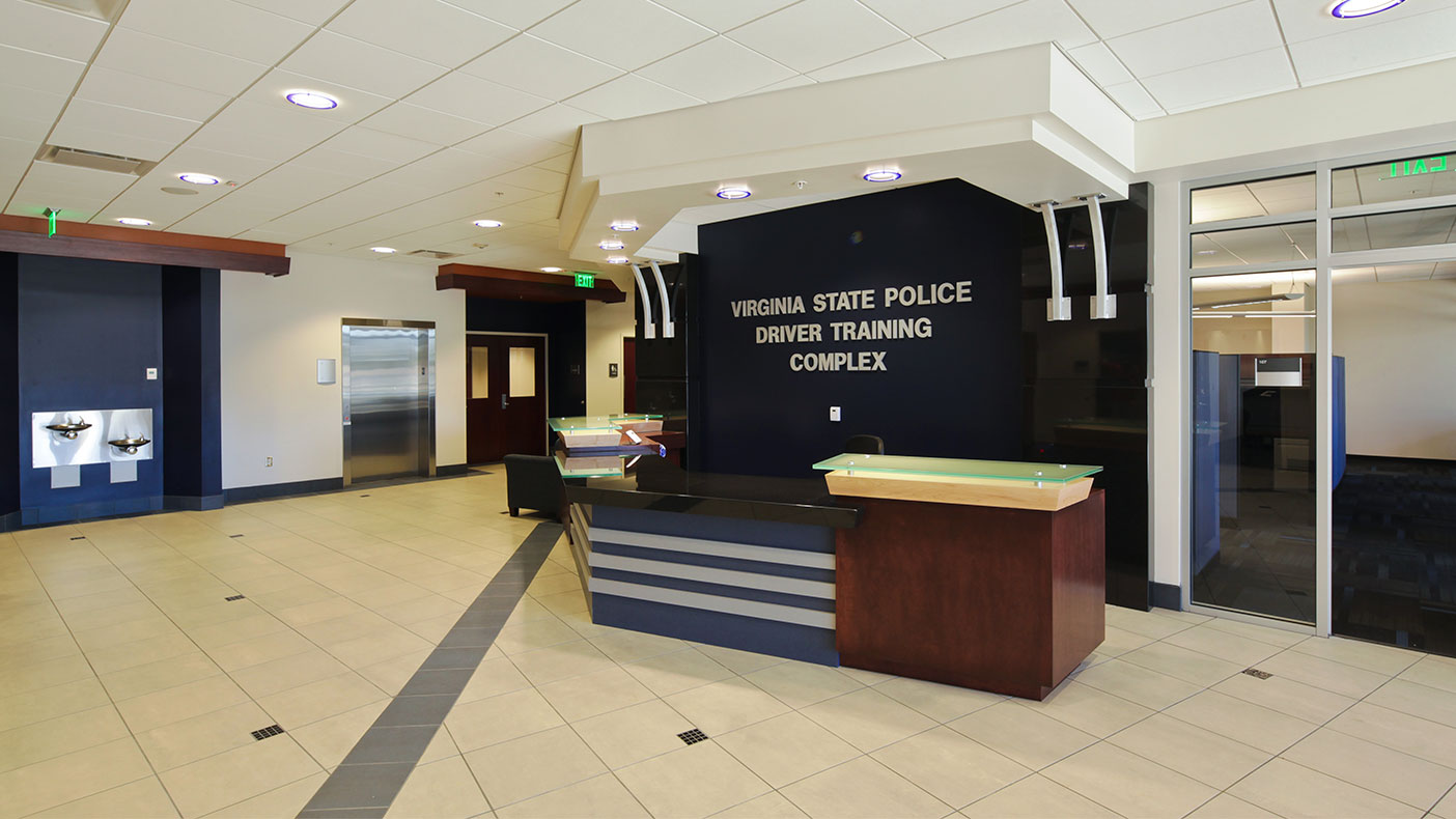 The training building was also designed to serve as an alternate emergency operations center for the State Police.
