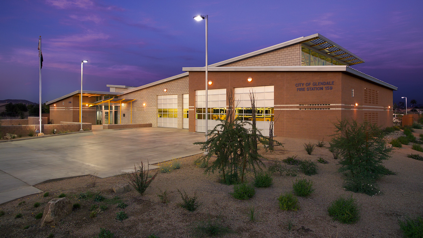Reflecting a southwestern palette of colors and materials, including copper, the facility