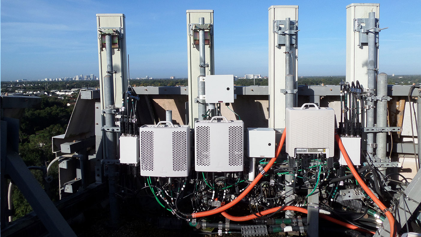 Our design replaced antennas and added equipment to the existing configuration to handle LTE needs.