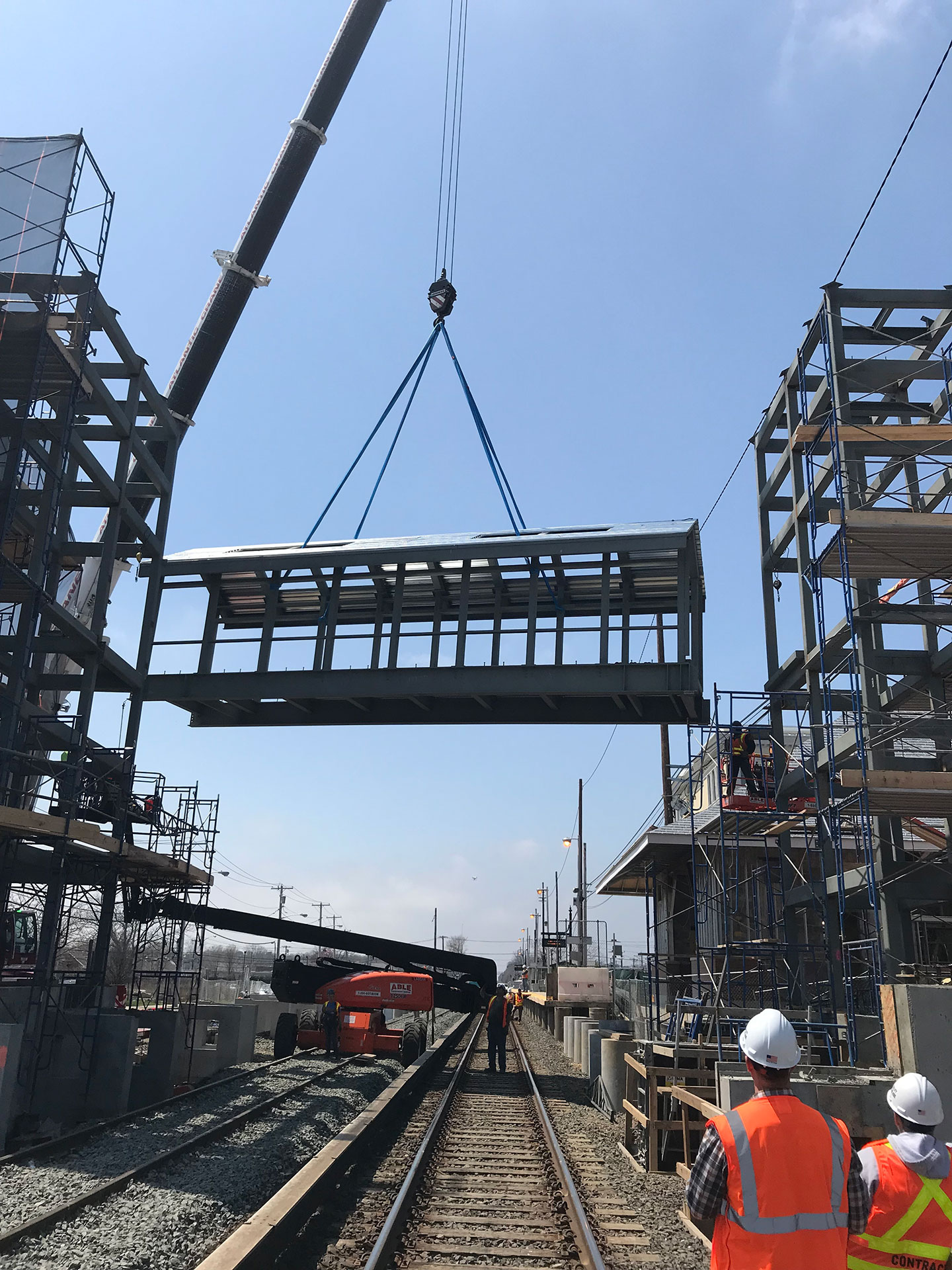 We worked closely with the contractor to progress the design and facilitate constructability and were in the field daily for the final months of construction.